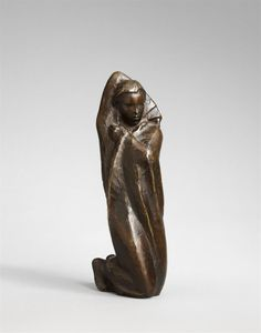 Georg Kolbe, Nonne (Kleine Nonne), 1923, Auktion 997 Moderne Kunst, Lot 213