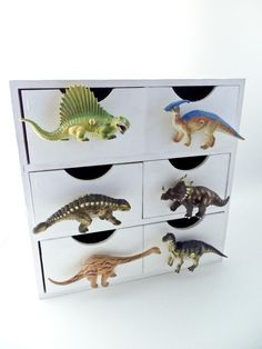 Dinosaur furniture knobs I am so going to do this for my Grandson ...
