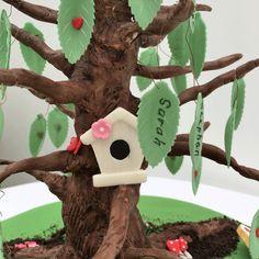 Cakes:  Family tree cake.  The Cake Lab Bakery, Ranelagh, Dublin, Ireland. Artisan Baking Studio.