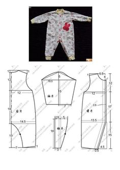 Best 10 This schemes showing us how to design baby dress s… – SkillOfKing. Baby Dress Design, Baby Girl Dress Patterns, Baby Clothes Patterns, Baby Design, Sewing Patterns Free, Baby Patterns, Baby Sewing Projects, Sewing For Kids, Sewing Baby Clothes