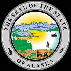 Alaska: Sello del Estado.