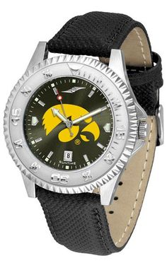 Iowa Hawkeyes Men Competitor Watch With AnoChome Dial