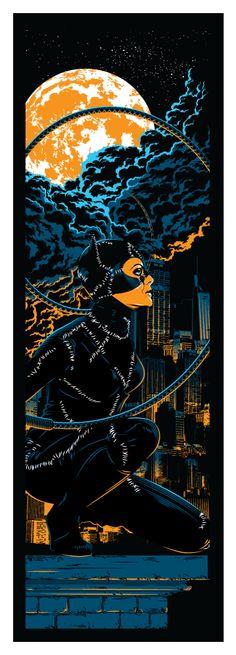Selina Burton era Catwoman by Tracie Ching.