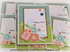 Amy's Art from the Heart, blossom, ctmh, easter card, shower flowers,