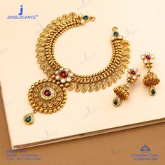 Get In Touch With us on Gold Bangles Design, Gold Jewellery Design, Gold Bridal Earrings, Gold Necklace, Indian Jewelry Sets, Golden Jewelry, Temple Jewellery, Gold Chocker, Bollywood Jewelry