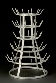 "Marcel Duchamp (1887-1968) ""Bottle dryer [Bottle rack]"", 1914 reconstructed 1964"
