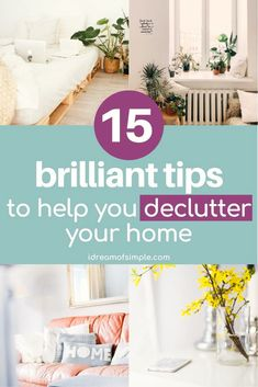 Do you want to declutter your home but you have no idea where to start? Here are 15 simple ways to declutter when you are overwhelmed by the mess. Click here to read the 15 simple tips and finally learn how to keep your home clean and tidy in 2021! Declutter Your Home, Organizing Your Home, Simple Blog, Simple Way, You Have No Idea, Minimalist Living, Simple Living, Your Space, My Dream