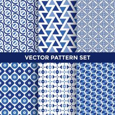 Universal Vector Pattern Set Collection Six Stock Vector (Royalty Free) 314569436 Textile Pattern Design, Textile Patterns, Abstract Pattern, Pattern Art, Fabric Design, Geometric Patterns, Graphic Patterns, Print Patterns, Decks