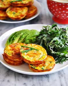 Oven Baked Corn Fritters
