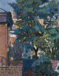 Spencer Gore (British, 1878-1914), Richmond. Oil on canvas, 19½ x 15½ in.