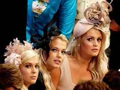 Royal Wedding. The three daughters of Earl Spencer, cousins of Prince William.