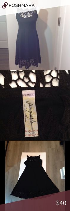 NWOT FREE PEOPLE LACE SKINNY STRAP DRESS FREE PEOPLE Dress. This is a sample so interior fabric tag is cut. Free People Dresses Mini