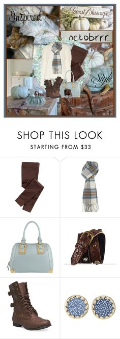 """""""Tartan scarf, sweater and leggings"""" by wendyfer on Polyvore featuring Title Nine, GLEN PRINCE, ALDO, Wet Seal, House of Harlow 1960 and Pier 1 Imports"""