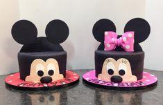 Mickey and Minnie - Cake by Melanie Mangrum
