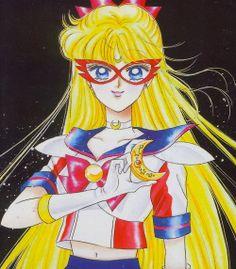 Sailor V by Naoko Takeuchi Sailor Moon Manga, Sailor Venus, Sailor Moon Aesthetic, Aesthetic Anime, Manga Art, Anime Art, Black Butler Grell, Sailor Moon Wallpaper, First Animation
