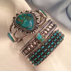 Latest Zuni and Navajo vintage boho southwest cuffs added to the shop!
