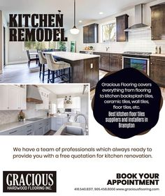 Kitchen Renovation: Check out the latest kitchen tiles and wall tiles design for your Kitchens in Brampton. Gracious Hardwood Flooring Inc offers an attractive range of tiles in Brampton. PHONE: 416-540-8317, 905-458-8000 EMAIL: GRACIOUSHARDWOOD@YAHOO.COM Cheap Hardwood Floors, Best Flooring For Kitchen, Wall Tiles Design, Tile Suppliers, Kitchen Backsplash, Kitchen Remodel, Tile Floor, Kitchens, Range