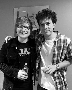Charlie Puth with Ed Sheeran ❤️