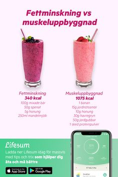 Healthy smoothie recipes for weight loss With Lifesum, tracking your healthy habits (and the not so healthy ones) becomes a breeze. We& help you pick the right food, and eat the right portion sizes, to reach your personal health goals. Healthy Smoothies, Healthy Drinks, Healthy Snacks, Healthy Eating, Healthy Recipes, Healthy Habits, Free Recipes, Veggie Snacks, Fruit Snacks
