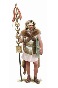 Signifer hastati Ancient Rome, Ancient History, Pax Romana, Roman Clothes, Roman Warriors, Roman Legion, Roman Republic, Roman Era, Classical Antiquity