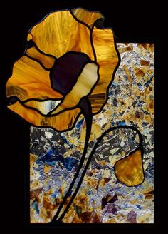 Teresa Seaton Stained Glass Gallery Florals Stained Glass Quilt, Stained Glass Flowers, Stained Glass Designs, Stained Glass Panels, Stained Glass Projects, Stained Glass Patterns, Mosaic Glass, Fused Glass, Glass Butterfly