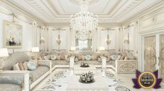 Living room Interior of Luxury Antonovich Design, Katrina Antonovich