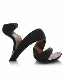 Wow! What fun shoes - designed by Julian Hakes of London (an architect!) and called the  Mojito