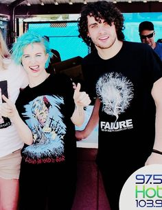 Hayley Williams an Taylor York