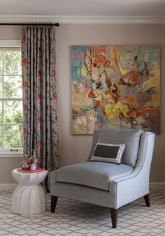 Room of the Day: Bright and Cool Colors Make a Vibrant Mix