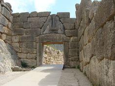 Mykene (home of Agamemnon), Löwentor