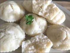Steamed Rice Cake, Rice Cakes, Ablo Recipe, Beignets, Feta, Mashed Potatoes, Side Dishes, Cheese, Healthy
