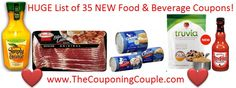 Looking for Food & Beverage Coupons? Here is a list of 35 NEW Food and Beverage Coupons! I made all of these direct links that will clip the coupons for you! You can find the full list of all 35 HERE ► http://www.thecouponingcouple.com/huge-list-of-new-food-beverage-printable-coupons-35-new-coupons/  #ExtremeCouponing #Coupons #Couponing  Visit us at http://www.thecouponingcouple.com for more great posts!