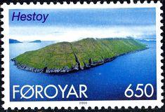 De postzegels van Faroer in 2000