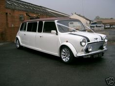 So cute... the getaway car for a wedding in Italy maybe?