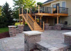 Marvelous Back Yard Patio Ideas Deck