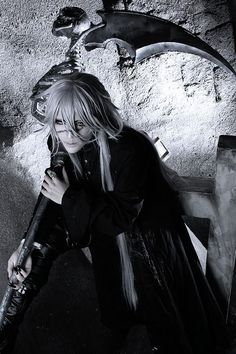 Undertaker cosplay from anime black butler   Oh MOG!!!!!!!!!!!!!So perfect Awesome awesome awesome  cosplay he is one of my favorite cosplay