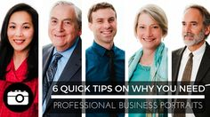 6 Quick Tips Why You Need Professional Business Portraits | Miceli Productions