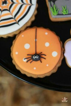 Spider cookie