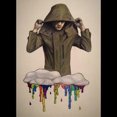 tyler joseph  -/ clique art  -/ twenty one pilots