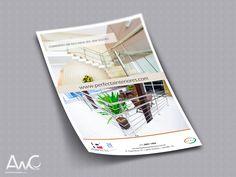 Desenvolvimento de Impressos Promocionais Folder para o cliente: Perfecta