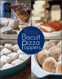 Easy Biscuit Pizza Poppers from OrWhateverYouDo.com