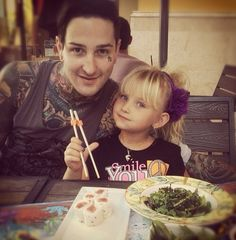mitch lucker and kenadee lucker : This is to cute I'm gonna cry>>>rest in peace Mitch We Will Never Forget, Mitch Lucker, Love Band, Amy Lee, Bmth, Pierce The Veil, Hayley Williams, Music Bands, Emo Bands