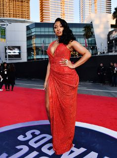 Megan Thee Stallion Photos Photos: 2019 American Music Awards - Red Carpet Celebrity Red Carpet, Celebrity Dresses, Celebrity Style, Hot Girls, Summer Girls, Christina Aguilera, Billie Eilish, Selena Gomez, American Music Awards 2019
