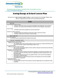 Saving Energy at School Lesson Plan for - Grade Energy Use, Save Energy, School Lessons, Textbook, Classroom, Teacher, Science, How To Plan, Learning