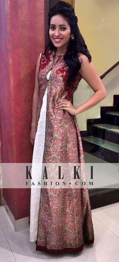 Asha Negi - KALKI Gold Dresss