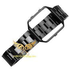>> Click to Buy << 2016 New Luxury Watch Band Strap+Meatal Frame 2 in 1 for Fitbit Blaze Wristwatch Bracelet Gold Silver Black Rose Gold #Affiliate