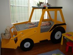 Front End Loader Bed Woodworking Plan by Plans4Wood | Home & Garden, Kids & Teens at Home, Furniture | eBay!