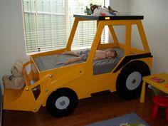 Front End Loader Bed Woodworking Plan by Plans4Wood | Home & Garden, Kids & Teens at Home, Furniture | eBay!