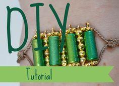 DIY Tube Bracelet step by step Tutorial