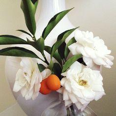 Bedside flower arrangement. Photo by citysage